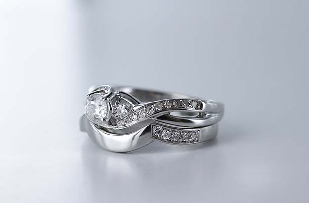 Custom Design - How We Made Kirsty Bennett's Wedding Ring