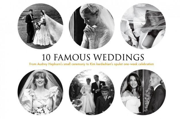 10 Famous Celebrity Weddings